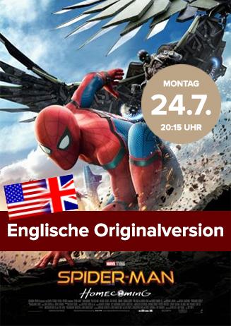 Englische Originalversion: Spiderman Homecoming