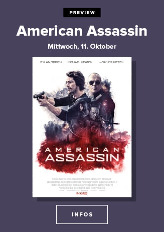 """Preview """" American Assassin """""""