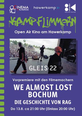 Kamp-Flimmern: WE ALMOST LOST BOCHUM