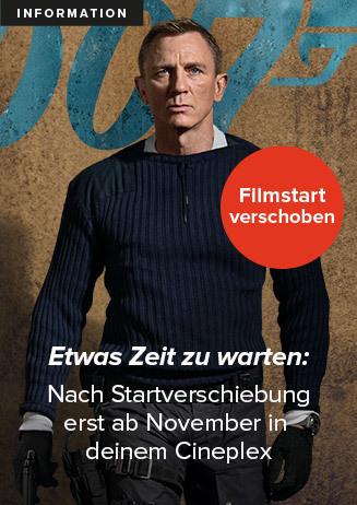 James Bond 007: KEINE ZEIT ZU STERBEN verschoben