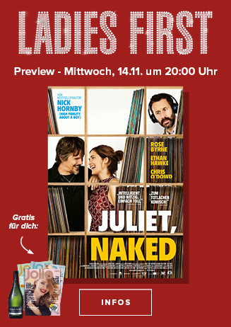 """Ladies First Preview """"Juliet, Naked"""""""