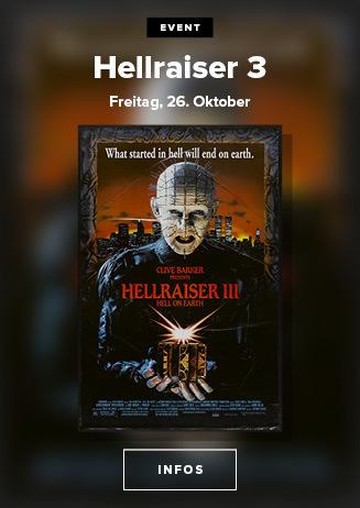 Hellraiser III: Hell on Earth 26. Oktober