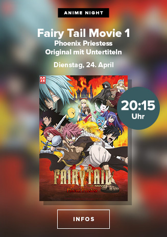 Anime Nights: Fairy Tail Movie 1 Phoenix Priestess