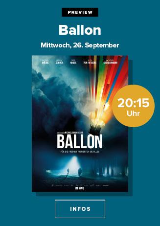 """Preview: """"Ballon"""""""