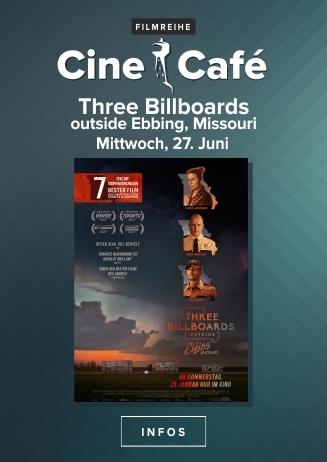 CineCafé: Three Billboards outside Ebbing, Missouri