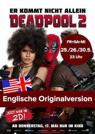 "Englische Originalversion: ""Deadpool 2"""