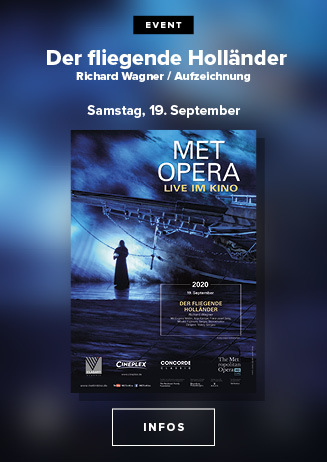 das MET Opernfestival: Wagner DER FLIEGENDE HOLLÄNDER