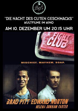 """Die Nacht des guten Geschmacks: """"Fight Club"""" OV"""