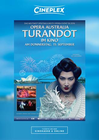 Turandot on Sydney Harbour