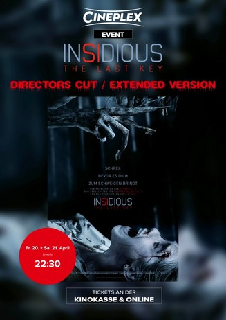 """Insidious Chapter 4 - The Last Key"" Director's Cut"
