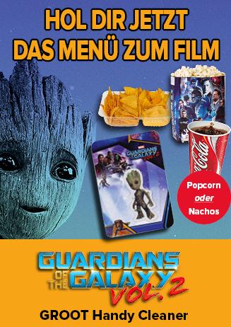 Con Menü Guardians of the Galaxy