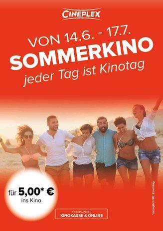 Sommerkino - Jeder Tag ist Kinotag
