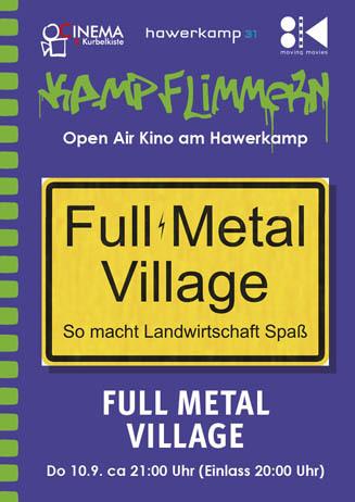 Kamp-Flimmern: FULL METAL VILLAGE