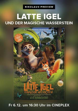 Nikolaus-Preview: LATTE IGEL