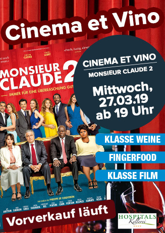 "Cinema & Vino: ""Monsieur Claude 2"""