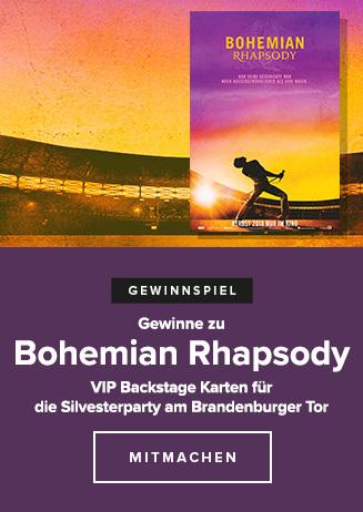 """Gewinnspiel zu """"Bohemian Rhapsody"""""""