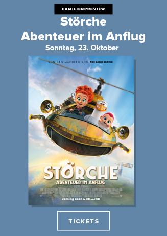 FAMILIENPREVIEW: Störche - Abenteuer im Anflug 3D