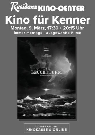 Kino für Kenner: DER LEUCHTTURM