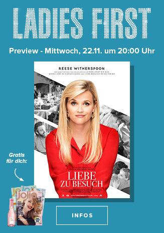 """Ladies First-Preview: """"Liebe zu Besuch"""""""