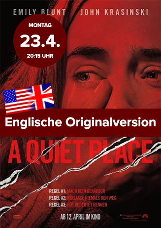 Englische Originalversion: A Quiet Place