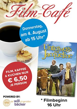 """160804 Film-Café """"Unterwegs mit Jaqueline"""""""