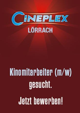 Kinomitarbeiter gesucht - Jetzt bewerben