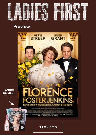 Ladies First: Florence Foster Jenkins
