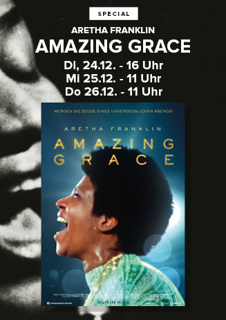 """191224-26 Special """"Aretha Franklin: Amazing Grace"""""""