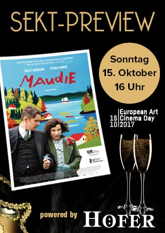 "171015 Sekt-Preview ""Maudie"""