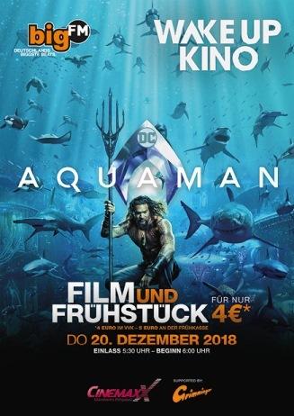 bigFM WakeUp Kino Aquaman