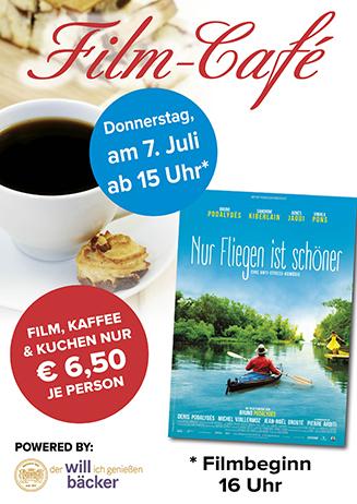 """160707 Film-Café """"Nur Fliegen ist schöner"""""""