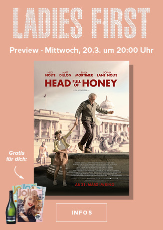 20.03. - Ladies First: Head full of Honey