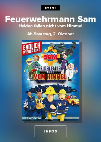 Feuerwehrmann Sam - Helden fallen nicht vom Himmel ab 02./03.10.