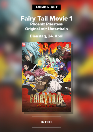 Anime Night: Fairy Tail Movie 1 Phoenix Priestess