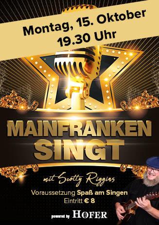181015 Mainfranken singt