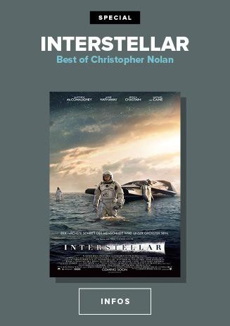 Nolan Reihe Interstellar