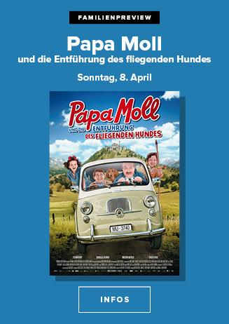 """Familienpreview """" Papa Moll & die Entführung des fliegenden... """""""