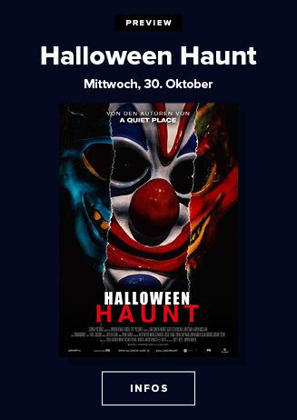 Preview am 30.10.2019: Halloween Haunt