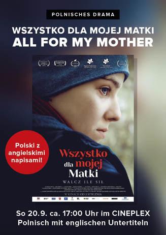Polnischer Film: ALL FOR MY MOTHER