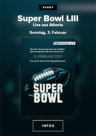 03.02. - Super Bowl LIII - LIVE