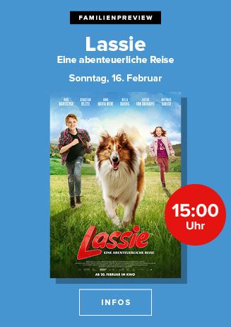 """Familienpreview: """"Lassie - eine abenteuerliche Reise"""""""