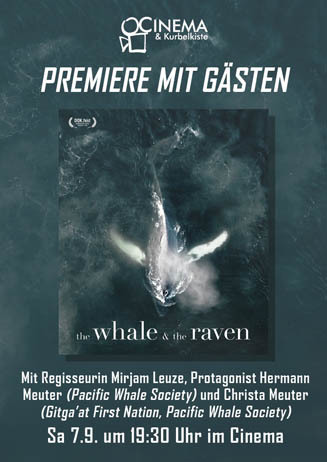 Premiere mit Gästen: THE WHALE AND THE RAVEN