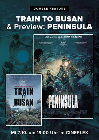 Double-Feature Train to Busan & Peninsula