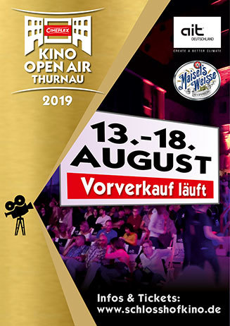Kino Open Air Thurnau 13. - 18. 8.