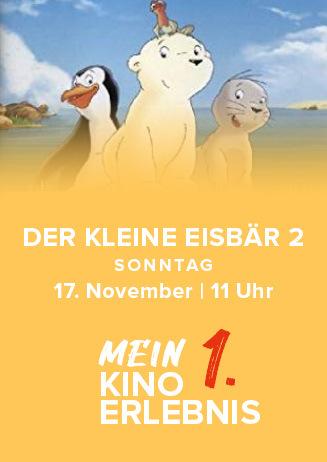 Mein 1. Kinoerlebnis: Der kleine Eisbär 2