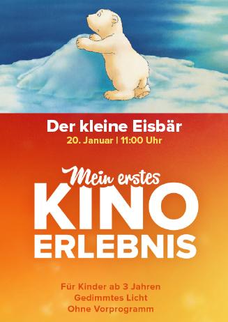 Mein erstes Kinoerlebnis: DER KLEINE EISBÄR