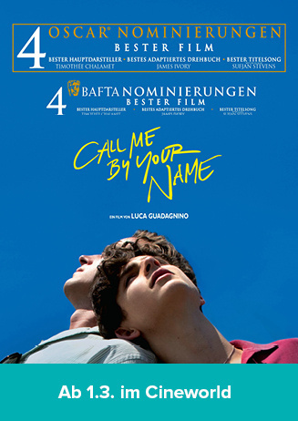 "180307 Filmstart ""Call me by your name"""