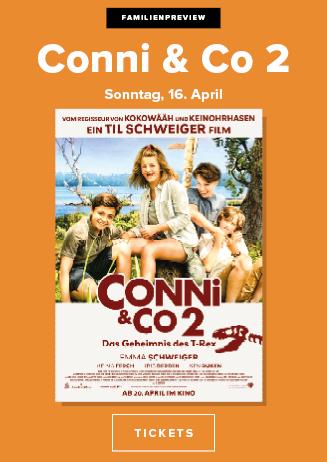 16.04. - Familienpreview: Conni & Co 2 - Das Geheimnis des T-Rex