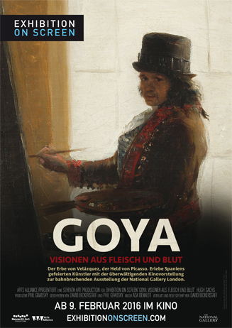 Exhibition in Screen - Goya
