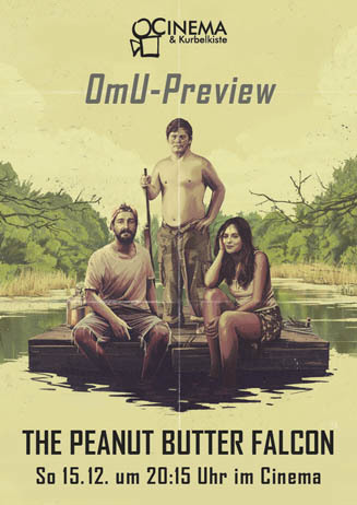 OmU-Preview: THE PEANUT BUTTER FALCON